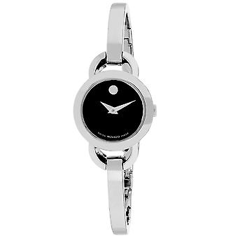 Movado Women's Rondiro Black Dial Watch - 606796