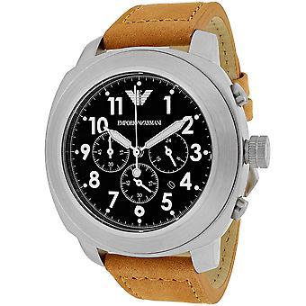 Armani Men's Sportivo Black Dial Uhr - AR6060