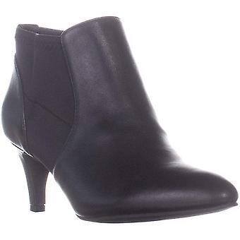 A35 Hazzel Kitten Heel Ankle Boots, Black