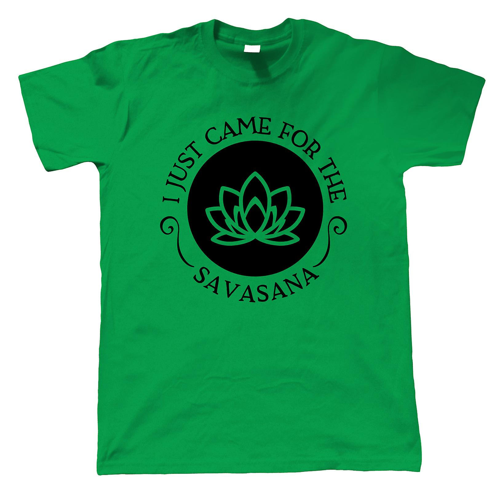 I Just Came For The Savasana, Mens T-Shirt - Yoga Gift Him ...