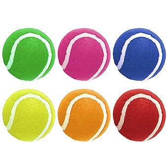 Ruff N tuimelen Tennis ballen (6 Pack)