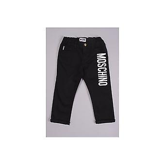 Moschino Baby Moschino partea logo-ul Baby Jeans