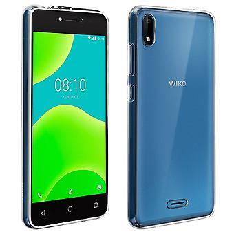 Original kit for Wiko Y50 Gel Silicone case & 9H tempered glass screen film
