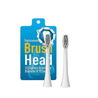 Replacement heads for electric toothbrush - 2pack