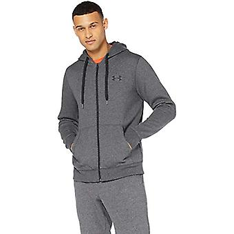 Unter Rüstung Men's UA Rivale voller Zip Hoodie Extra groß wahr, grau, Größe X-large