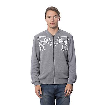Grey Roberto Cavalli men's sweatshirt