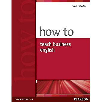 Hur man undervisar Business English (hur)