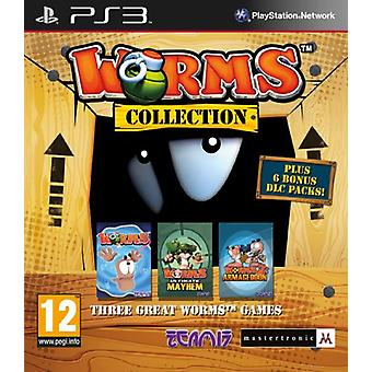 Worms Collection (PS3) - Neu