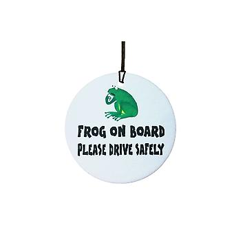 Frog On Board Car Air Freshener