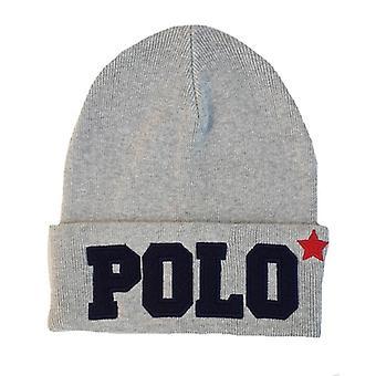 Ralph Lauren Polo pipo Hat miesten Varsity harmaa