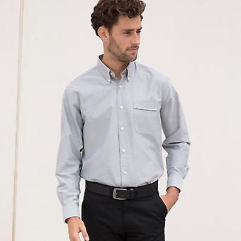 Henbury long sleeved classic oxford shirt hb510