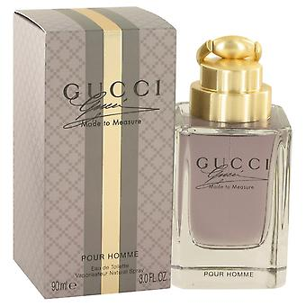 Gucci Made to Measure by Gucci Eau De Toilette Spray 3 oz / 90 ml (Men)