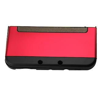 Hybrid case for new 3ds nintendo console protective aluminium cover - red | zedlabz