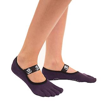 TOETOE Yoga & Pilates Anti-Slip Sole OM Foot Cover