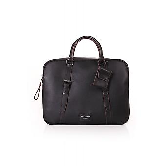 Ted Baker Mens Hooston Leather Document Bag