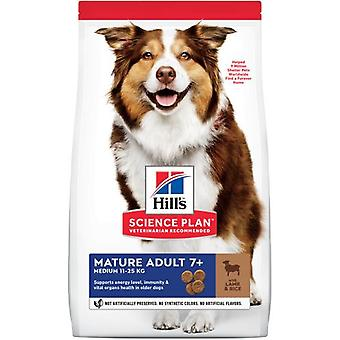 Hill's Adult Mature 7+ All Breeds Lamb and Rice (Dogs , Dog Food , Dry Food)