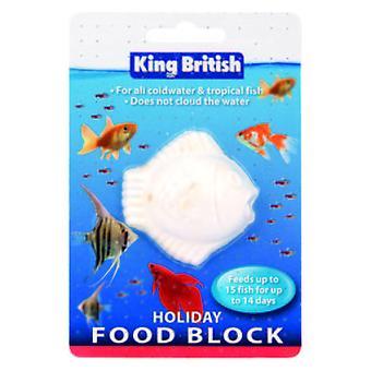 King British Holiday Food Block (Fish , Food , Cold Water , Warm Water)