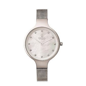 Obaku Sky Steel Women's Wristwatch V173LXCIMC