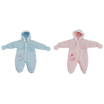 Baby Boys/Girls So Beary Cute All In One Hooded Winter Snowsuit