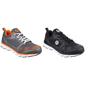 Amblers Safety Unisex Adults Lightweight Non-Leather Safety Trainers