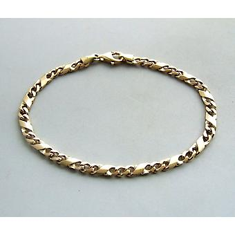 Christlichen 14 Karat gelb-gold-Armband