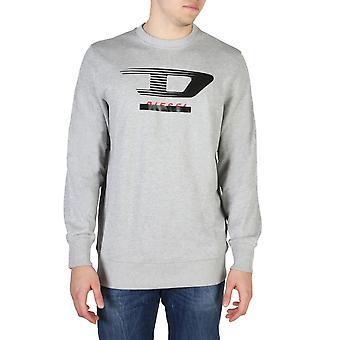 Diesel Original Men All Year Sweatshirt - Grey Color 55405