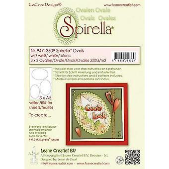 LeCrea Spirella 12 Pre-Cut Circles (300gsm)