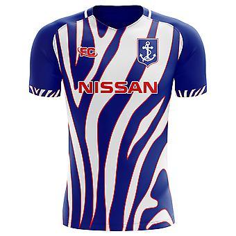 2018-2019 Yokohama Marinos Fans Kultur Hem koncept skjorta
