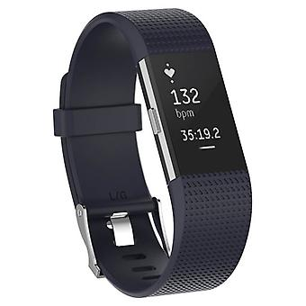 Sportarmband voor Fitbit Charge 2-donker blauw