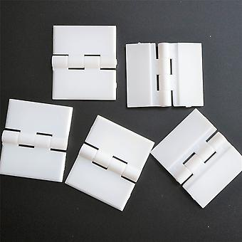 Pack of 5 x White Hinges 32mm x 38mm