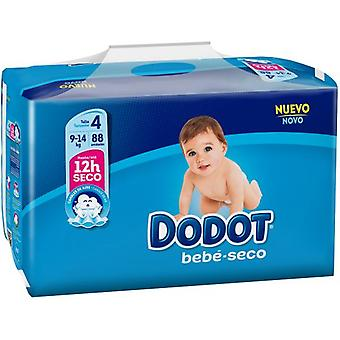 Dodot Dry Baby Stages Size 4 with 88 Units (Baby & Toddler , Diapering , Diapers)