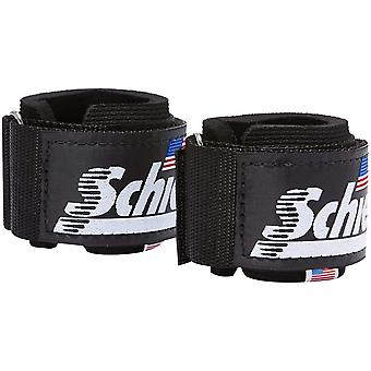 Schiek Sports Model 1100-WS Extra-Wide Wrist Straps - Black