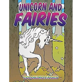 Unicorn and Fairies Coloring Pages Kids Colouring Books by Avon Coloring Books