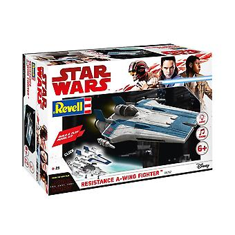 Revell 6762 Star Wars Episode VIII Rakentaa & Pelaa Blue A-Wing Fighter Muovi Malli Kit