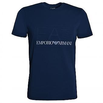 EA7 Emporio Armani Men-apos;s Navy Blue T-Shirt