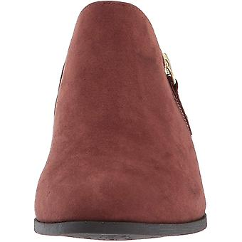 Dr. Scholl's Shoes Women's Brief Ankle Boot, Copper Brown Microfiber, 6.5 M US