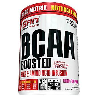 SAN Bcaa Boosted Furious Fruit Punch 417 gr