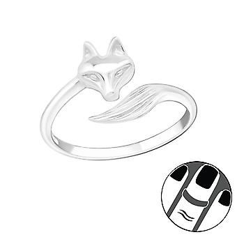 Fox - 925 Sterling Silver Midi Rings - W20988x