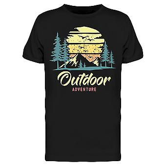 Outdoor Adventure Landscape Tee Men's -Afbeelding door Shutterstock