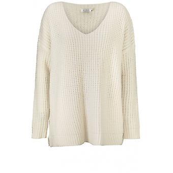 Masai Kleidung Francoise Creme stricken Pullover