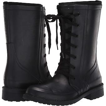 Aerosoles Women's Vernon Rain Boot, Black, 6 M US