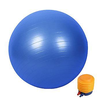 Räjähdyssuojattu kuntopallo pumpulla, matta pilatespallo, liukumaton paksu joogapallo, tasapaino ja vakauspallo, kuntoilu ja keinotekoinen synnytys