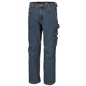 Beta 075250054 7525 X / L X / stor arbeide Jeans i Stretch Denim bomull