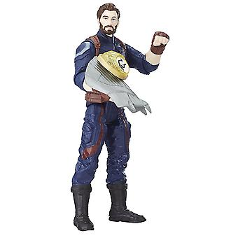 Marvel Avengers: Infinity War Captain America with Infinity Stone Action Figure