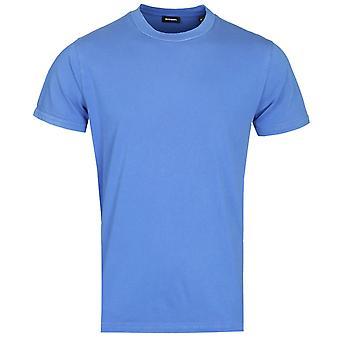 Diesel T-Shin Maglietta Ocean Blue T-Shirt