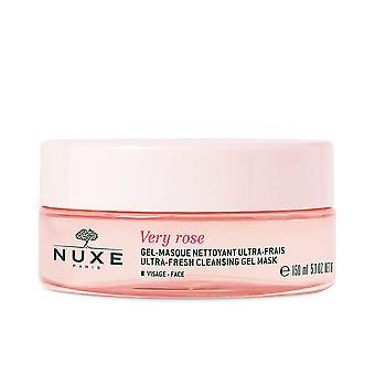 Nuxe Meget Rose Gel-masque Nettoyant Ultra Frais Visage 150 Ml For Kvinder