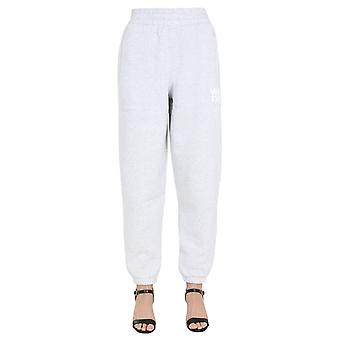 Alexander Wang.t 4cc1204061050 Women's Grey Cotton Joggers