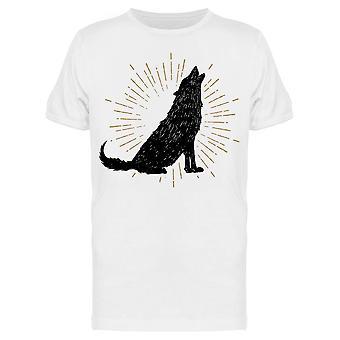 Howling Wolf Shade Tee Miehet&s -Kuva Shutterstock