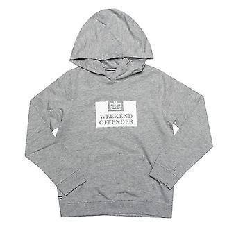 Boy's Weekend Offender Junior HM Service Hoody in Grey