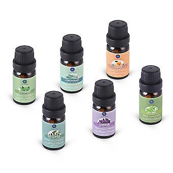Pure Essential Oils  - Humidifier Aromatherapy - Eucalyptus Peppermint Lavender Lemongrass Orange Tea Tree Oil